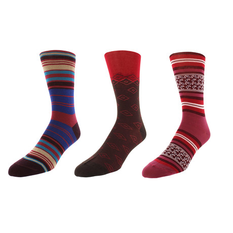 Washington D.C. Dress Socks // Pack of 3
