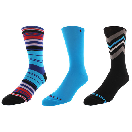 San Francisco Dress Socks // Pack of 3
