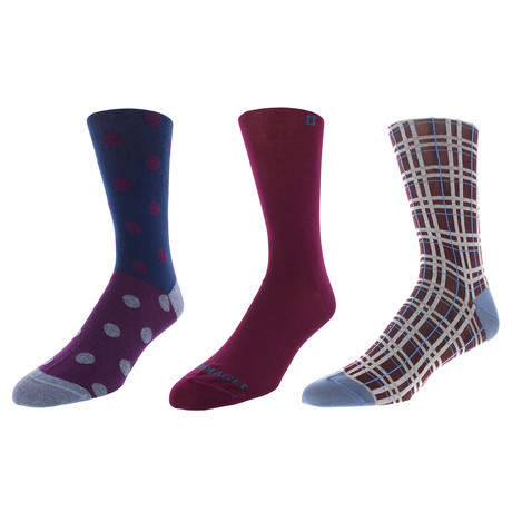 Miami Dress Socks // Pack of 3