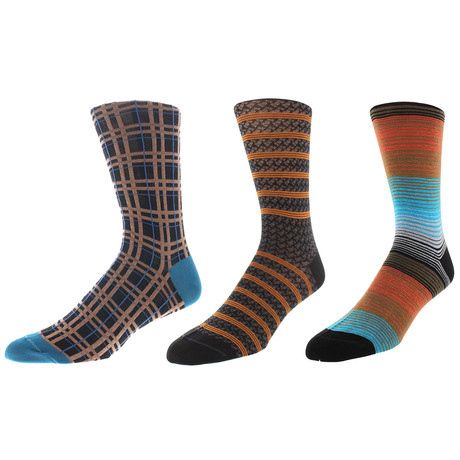 Los Angeles Dress Socks // Pack of 3