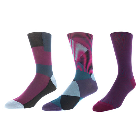 Seattle Dress Socks // Pack of 3