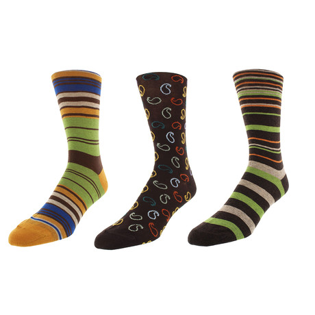 Chicago Dress Socks // Pack of 3