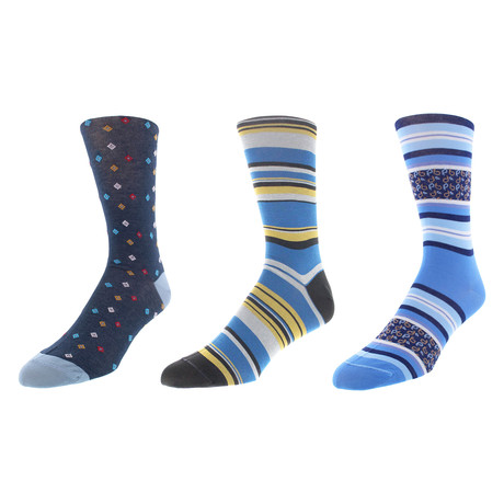 Dallas Dress Socks // Pack of 3
