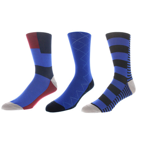 Milwaukee Dress Socks // Pack of 3