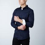 Meadows Dress Shirt // Blue + White (S)