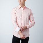 Trenton Dress Shirt // Salmon + White (S)
