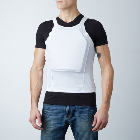 Armored Vest // White (Small)