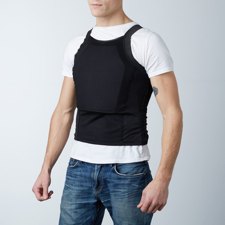 Armored Vest // Black (Small)