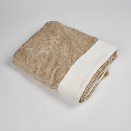 Bicolour Spa Terry Bath Towel
