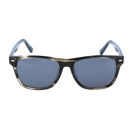 Rocca Sunglass // Grey + Navy