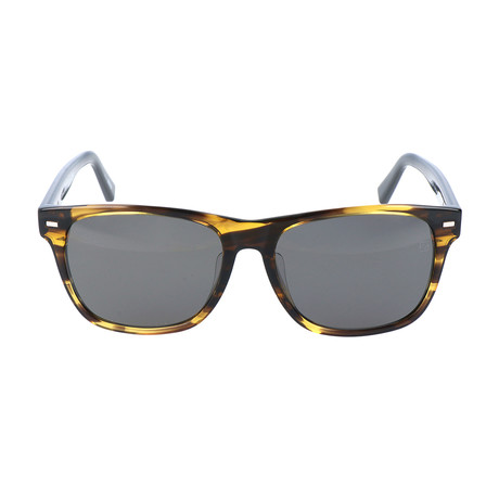 Sanna Sunglass // Yellow Tortoise + Navy