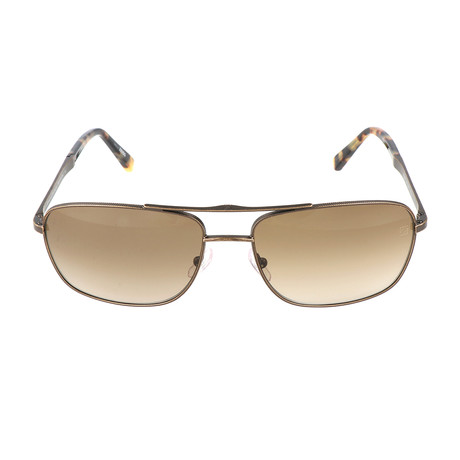 Pagani Sunglass // Brown + Bronze