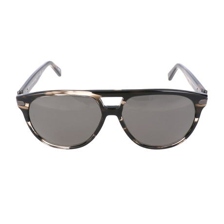 Falco Sunglass // Black + Brown