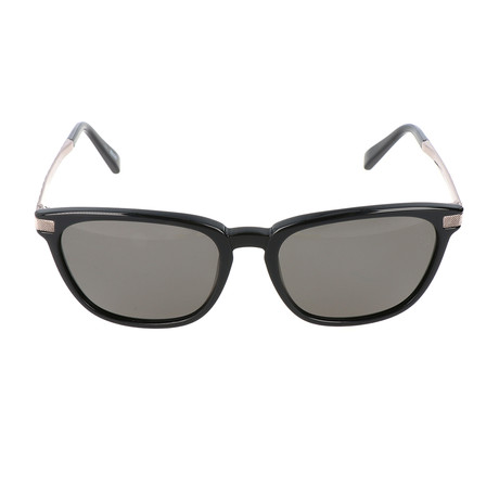 E. Zegna // Colombo Sunglass // Black