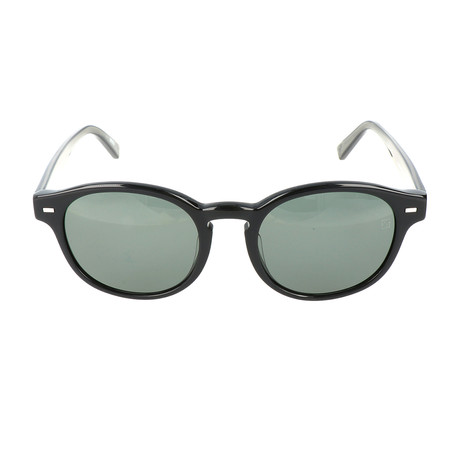 E. Zegna // Dioli Sunglasses // Black