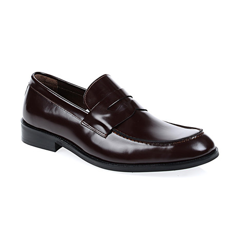 Miles Loafer Shoes // Bordeaux (Euro: 40)
