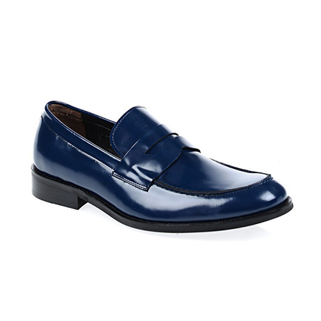 Miles Loafer Shoes // Navy (Euro: 40)