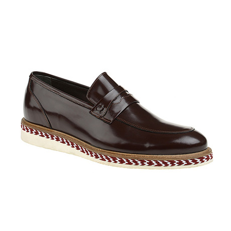 Devin Loafer Shoes // Bordeaux (Euro: 40)