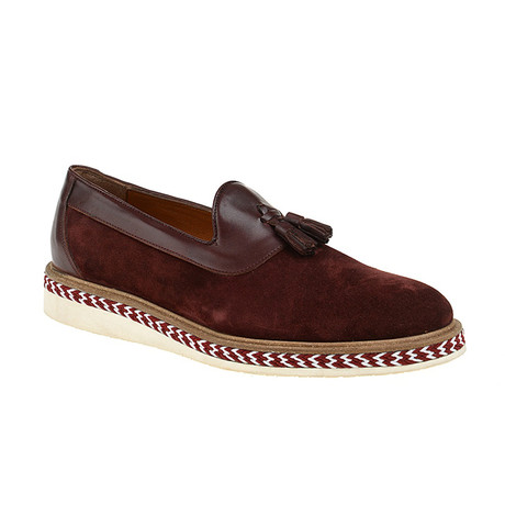 Niles Loafer Shoes // Bordeaux (Euro: 40)