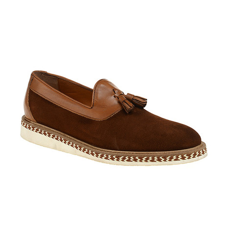 Niles Loafer Shoes // Tobacco (Euro: 40)