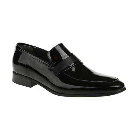 Tony Loafer Shoes // Black Patent (Euro: 40)
