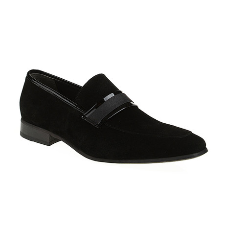 Tony Loafer Shoes // Black Suede (Euro: 40)