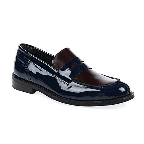 Andrew Cap-Toe Shoes // Bordeaux (Euro: 40)