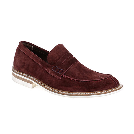 Mark Loafer Shoes // Bordeaux (Euro: 40)