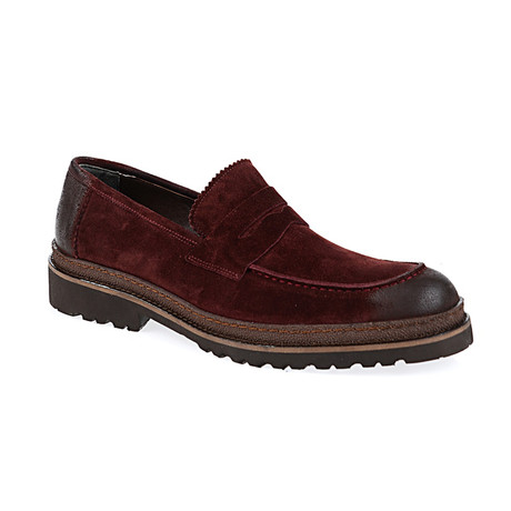 Douglas Loafer Shoes // Bordeaux (Euro: 40)