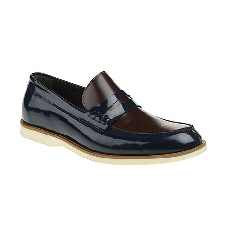 Loafer Shoes // Bordeaux + Navy (Euro: 40)