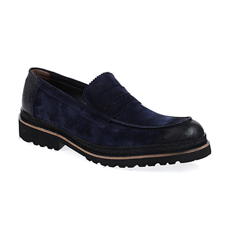 Douglas Loafer Shoes // Navy (Euro: 40)