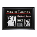 Signed Signature Collage // Murder Inc. // Meyer Lansky