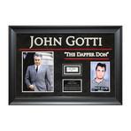 """Signed Signature Collage // """"The Dapper Don"""" // John Gotti"""