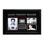 "Signed Signature Collage // James ""Whitey"" Bulger"