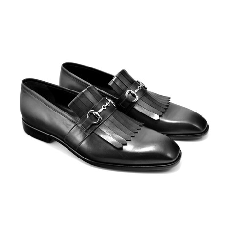 Killtie Buckle Loafer // Black (US: 7)