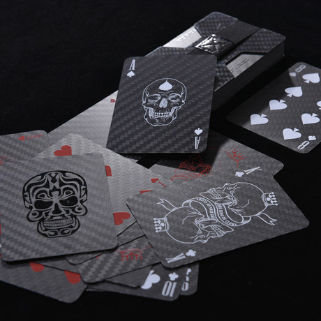 Premium Carbon Fiber Playing Poker Card // Class Edition