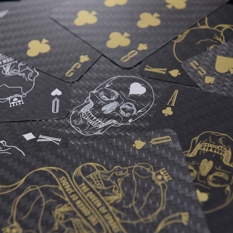 Premium Carbon Fiber Playing Poker Card // Grand Edition