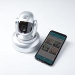 Helmet // Home + Pet Video Camera (White)