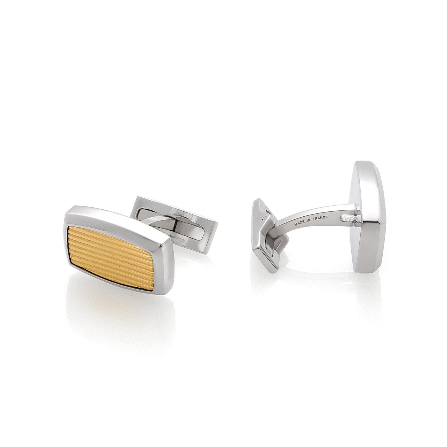 S.T. Dupont Guilloche Style Cufflinks // 005503