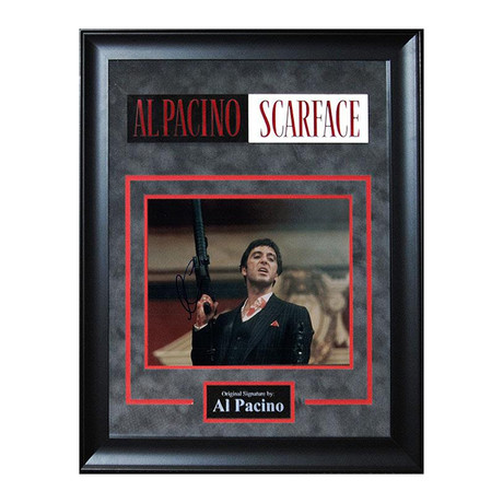 Signed Artist Series // Scarface // Action // Al Pacino