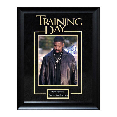 Signed Artist Series // Training Day // Denzel Washington