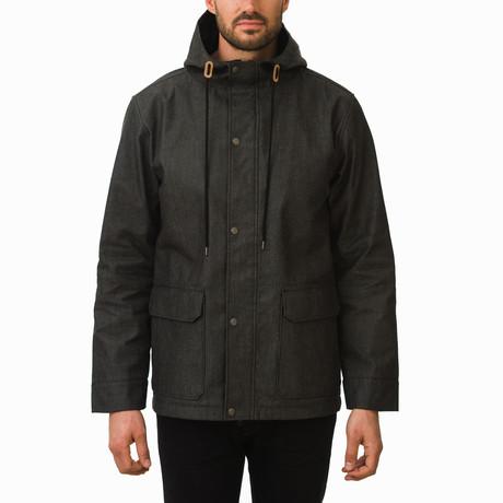 One Man Voyer Rain Jacket // Black (S)
