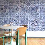 Ocean Blue Tiles // Set Of 12