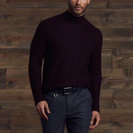 Antony Turtle Neck Sweater // Charcoal Gray (S)