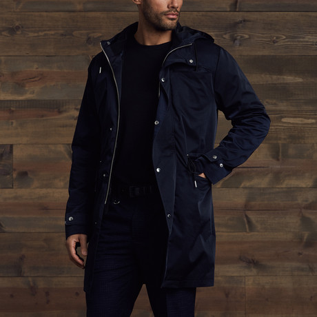 Elden Light Weight Parka with Vest // Navy (S)