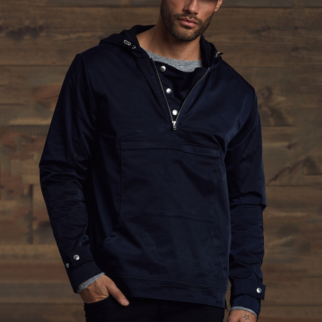 Reyton Light Weight Overhead Jacket // Navy (S)