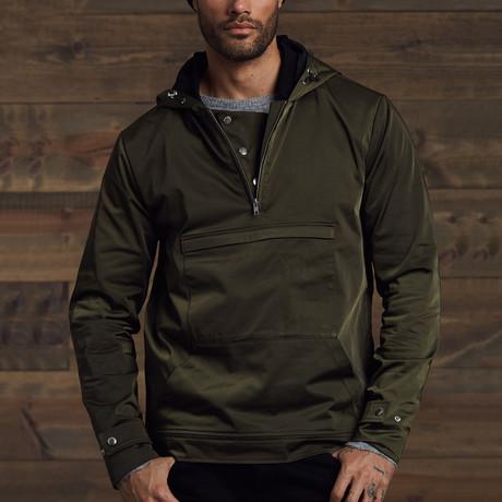 Reyton Light Weight Overhead Jacket // Army (S)