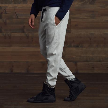 Dillon Paneled Sweatpants // Gray (S)