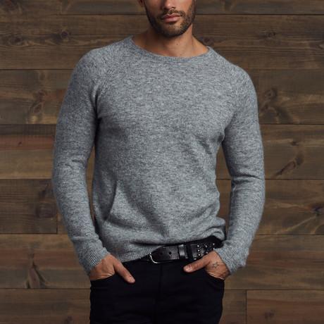 Vince Fuzzy Pocket Sweater // Husky (S)