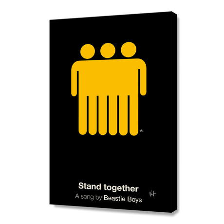 "Stand Together (Stretched Canvas // 16""W x 24""H x 1.5""D)"